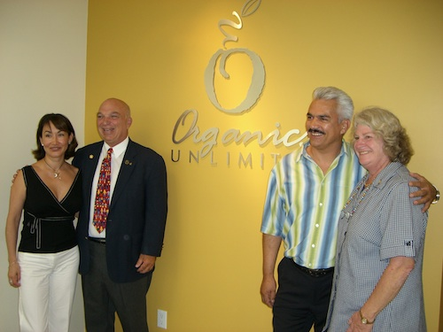 Mayra, Manuel, Ted and Susan Organics Unlimited