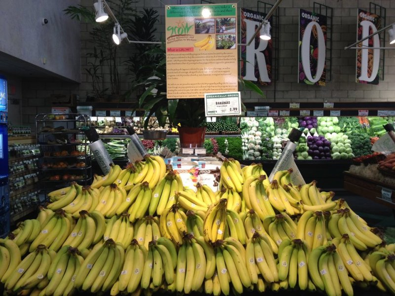 Jimbos Organics Unlimited Display
