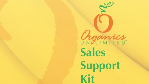 Organics Unlimited Sales Support Kit 2013