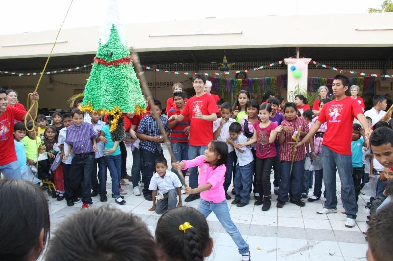 Christmas Fiesta 2013 Pinata