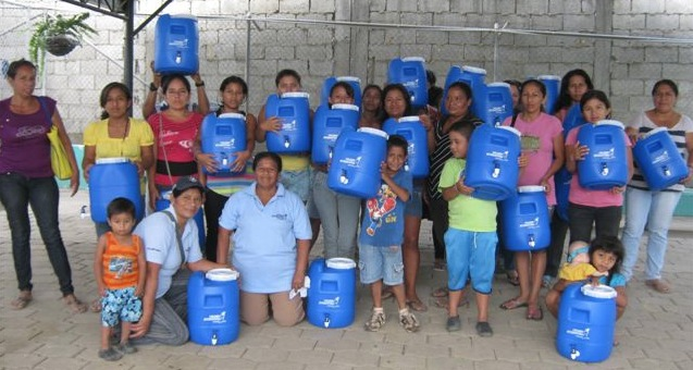 GROW Safe Water Project Continues in Ecuador