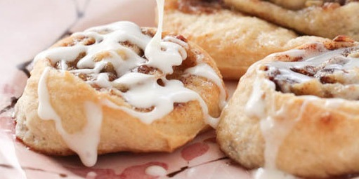 Recipes Roasted Banana Cinnamon Rolls