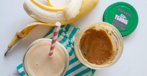 Recipe Apple Peanut Butter Banana Shake