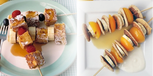 Recipe Breakfast Banana Kebabs