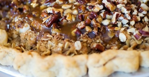 Recipe Caramel Apple Pecan Pie