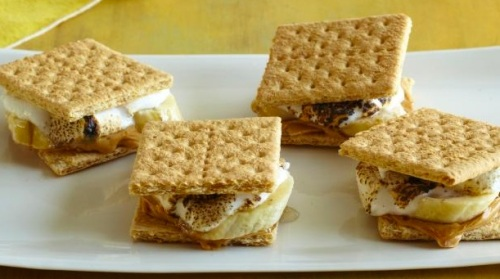 Recipe Grilled Banana S'Mores