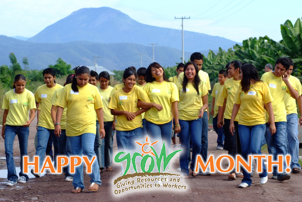 GROW-Students GROW Month