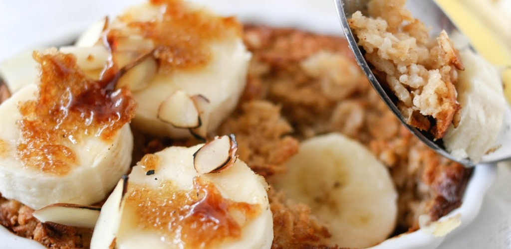 Recipe Baked Oatmeal with Bananas