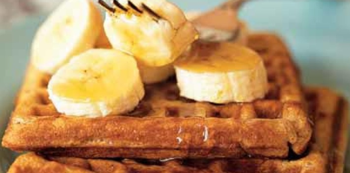 Recipe Banana-Cinnamon Waffles