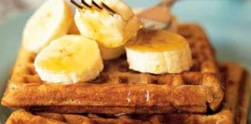 Recipe Banana-Cinnamon Waffles