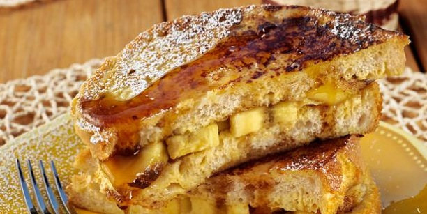 Recipe French Toast Panini With Grilled Bananas