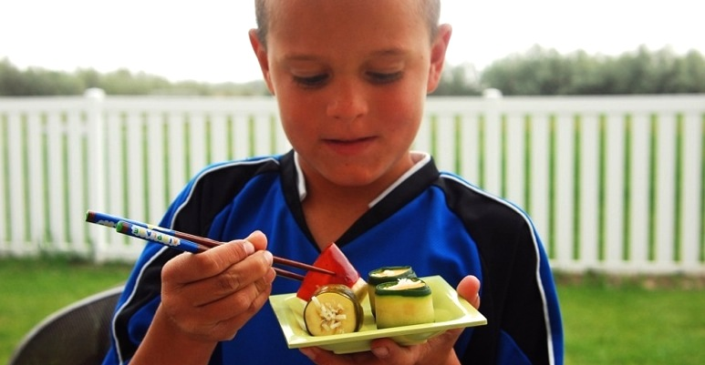 Marketing Produce for Kids Bananas Sushi
