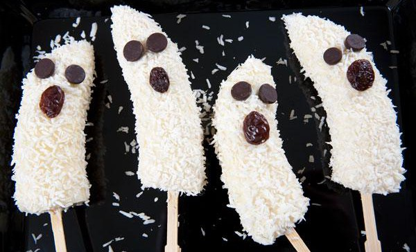 Recipe Ghost Banana Pops