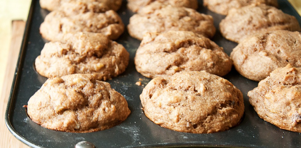 Recipe Peanut Butter and Banana Muffins