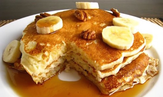 Recipe Banana Buttermilk Pancakes