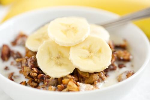 Banana Granola Cereal