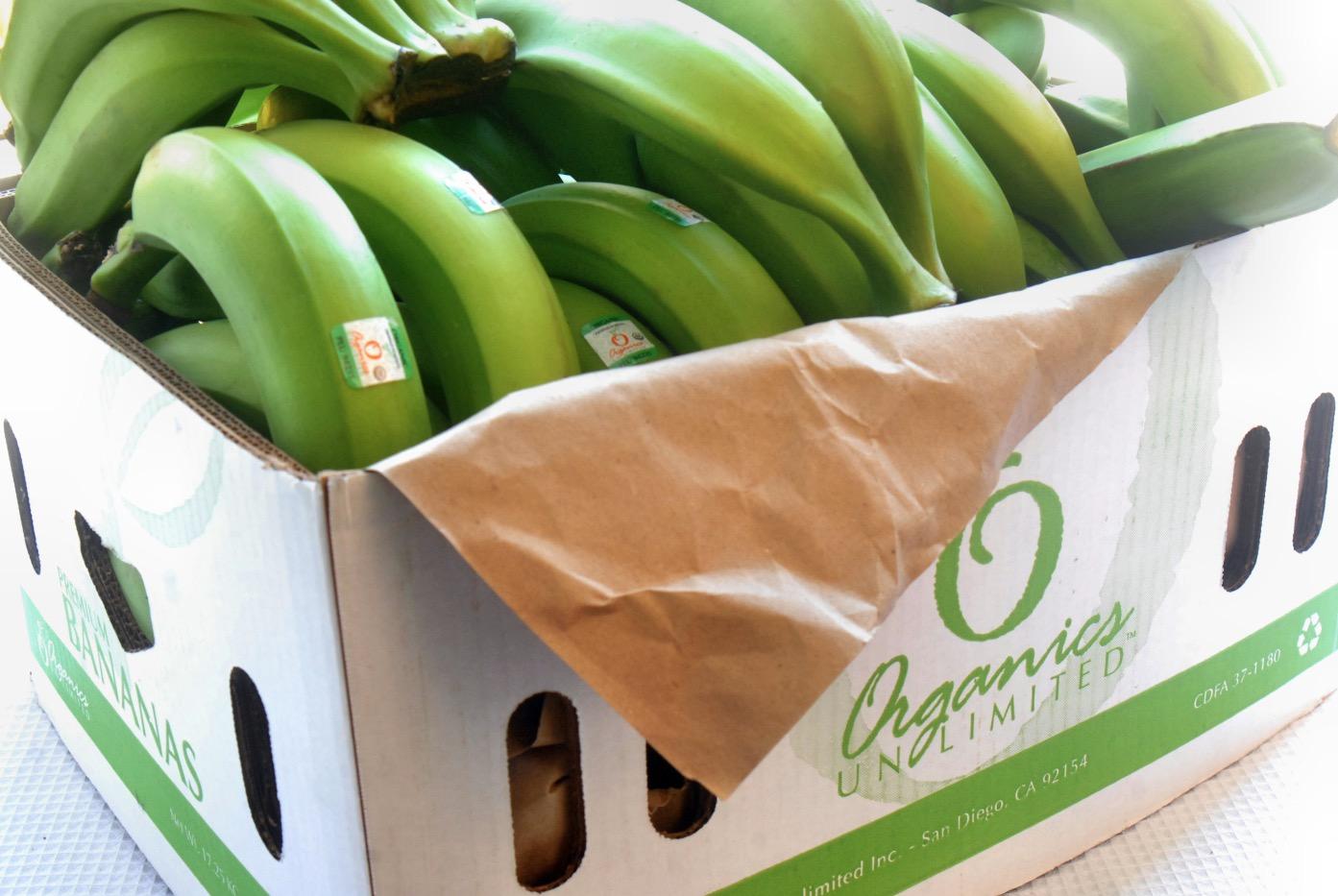 Organics Unlimited Bananas